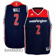 Canotte Basket Bambino John Wall 2# Alternate 2015-16 Maglia Washington Wizards..