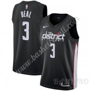 Canotte Basket Bambino Washington Wizards 2019-20 Bradley Beal 3# Nero City Edition Swingman..