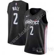 Canotte Basket Bambino Washington Wizards 2019-20 John Wall 2# Nero City Edition Swingman..