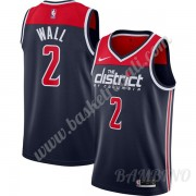 Canotte Basket Bambino Washington Wizards 2019-20 John Wall 2# Marina Militare Finished Statement Ed..