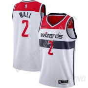 Canotte Basket Bambino Washington Wizards 2019-20 John Wall 2# Bianca Association Edition Swingman..