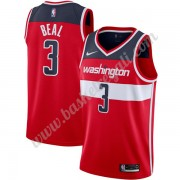 Maglie NBA Washington Wizards 2019-20 Bradley Beal 3# Rosso Icon Edition Canotte Swingman..