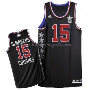 Divise Basket West All Star Game 2015 Demarcus Cousins 15# NBA Swingman..