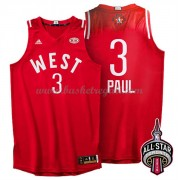 Divise Basket West All Star Game 2016 Chris Paul 3# NBA Swingman..