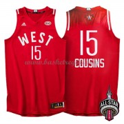 Divise Basket West All Star Game 2016 Demarcus Cousins 15# NBA Swingman..