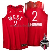 Divise Basket West All Star Game 2016 Kawhi Leonard 2# NBA Swingman..