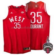 Divise Basket West All Star Game 2016 Kevin Durant 35# NBA Swingman..