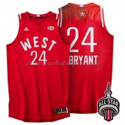 Divise Basket West All Star Game 2016 Kobe Bryant 24# NBA Swingman..