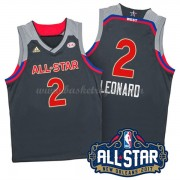 Divise Basket West All Star Game 2017 Kawhi Leonard 2# NBA Swingman..