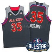 Divise Basket West All Star Game 2017 Kevin Durant 35# NBA Swingman..