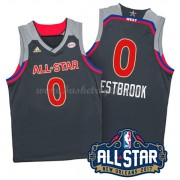 Divise Basket West All Star Game 2017 Russell Westbrook 0# NBA Swingman..