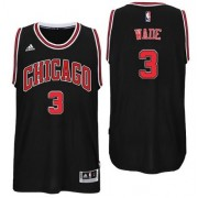 Maglie NBA Dwyane Wade 3# Alternate 2017-18 Canotte Chicago Bulls..