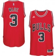 Maglie NBA Dwyane Wade 3# Road 2017-18 Canotte Chicago Bulls..