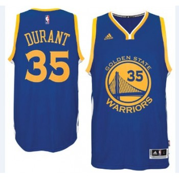 Maglie NBA Kevin Durant 35# Road 2015-16 Canotte Golden State Warriors