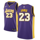 Maglie NBA Los Angeles Lakers 2018 Canotte LeBron James 23# Statement Edition