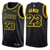 Maglie NBA Los Angeles Lakers 2018 Canotte LeBron James 23# City Edition