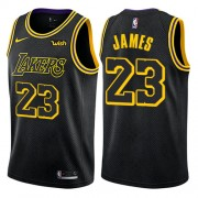 Canotte Basket Bambino Los Angeles Lakers 2018 LeBron James 23# City Edition..
