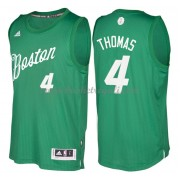 Magliette Basket Boston Celtics 2016 Isaiah Thomas 4# NBA Natale Swingman..