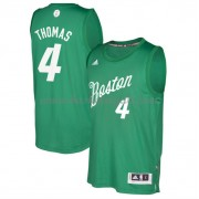 Magliette Basket Boston Celtics 2016 Isiah Thomas 4# NBA Natale Swingman..