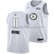 Divise Basket Boston Celtics s Kyrie Irving 11# Bianca 2018 All Star Game..