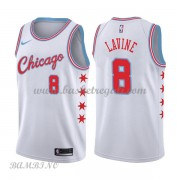 Canotte Basket Bambino Chicago Bulls 2018 Zach Lavine 8# City Edition..