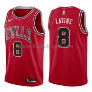 Maglie NBA Chicago Bulls 2018 Canotte Zach Lavine 8# Icon Edition..