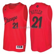 Magliette Basket Chicago Bulls 2016 Jimmy Butler 21# NBA Natale Swingman..