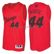Magliette Basket Chicago Bulls 2016 Nikola Mirotic 44# NBA Natale Swingman..
