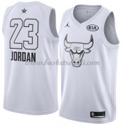 Divise Basket Chicago Bulls s Michael Jordan 23# Bianca 2018 All Star Game..