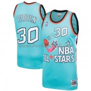 Divise Basket Chicago Bulls s Scottie Pippen 33# Teal 1996 All Star Hardwood Classics Swingman..