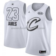 Divise Basket Cleveland Cavaliers s LeBron James 23# Bianca 2018 All Star Game..