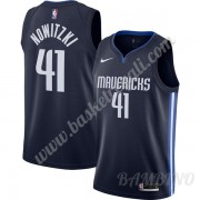 Canotte Basket Bambino Dallas Mavericks 2019-20 Dirk Nowitzki 41# Marina Militare Finished Statement..