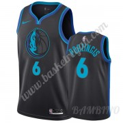 Canotte Basket Bambino Dallas Mavericks 2019-20 Kristaps Porzingis 6# City Edition Swingman..