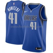 Maglie NBA Dallas Mavericks 2018 Canotte Dirk Nowitzki 41# Icon Edition..