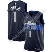 Maglie NBA Dallas Mavericks 2019-20 Dennis Smith Jr 1# Marina Militare Statement Edition Canotte Swi..