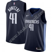 Maglie NBA Dallas Mavericks 2019-20 Dirk Nowitzki 41# Marina Militare Finished Statement Edition Can..