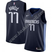 Maglie NBA Dallas Mavericks 2019-20 Luka Doncic 77# Marina Militare Finished Statement Edition Canot..