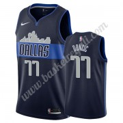 Maglie NBA Dallas Mavericks 2019-20 Luka Doncic 77# Marina Militare Statement Edition Canotte Swingm..