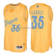 Magliette Basket Denver Nuggets 2016 Kenneth Faried 35# NBA Natale Swingman..