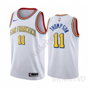 Canotte Basket Bambino Golden State Warriors 2019-20 Klay Thompson 11# Bianca Classics Edition Swing..