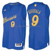 Magliette Basket Golden State Warriors 2016 Andre Iguodala 9# NBA Natale Swingman..