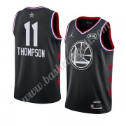 Maglie Basket NBA Golden State Warriors 2019 Klay Thompson 11# Nero All Star Game Canotte Swingman..