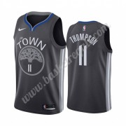 Maglie NBA Golden State Warriors 2019-20 Klay Thompson 11# Nero City Edition Canotte Swingman..