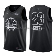 Divise Basket Golden State Warriors s Draymond Green 23# Nero 2018 All Star Game..