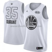 Divise Basket Golden State Warriors s Kevin Durant 35# Bianca 2018 All Star Game..