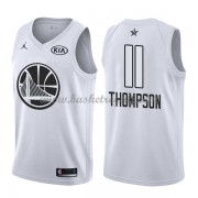Divise Basket Golden State Warriors s Klay Thompson 11# Bianca 2018 All Star Game..