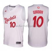 Magliette Basket Houston Rockets 2016 Eric Gordon 10# NBA Natale Swingman..