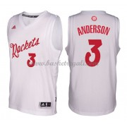 Magliette Basket Houston Rockets 2016 Ryan Anderson 3# NBA Natale Swingman..