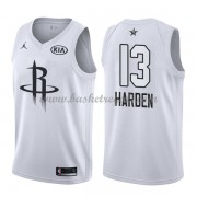 Divise Basket Houston Rockets s James Harden 13# Bianca 2018 All Star Game..
