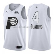 Divise Basket Indiana Pacers s Victor Oladipo 4# Bianca 2018 All Star Game..